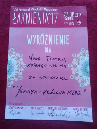 Festiwal Młodości Teatralnej Łaknienia